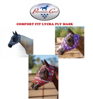 PCH Comfort Fit Lycra Fly Mask - maska proti hmyzu NEW